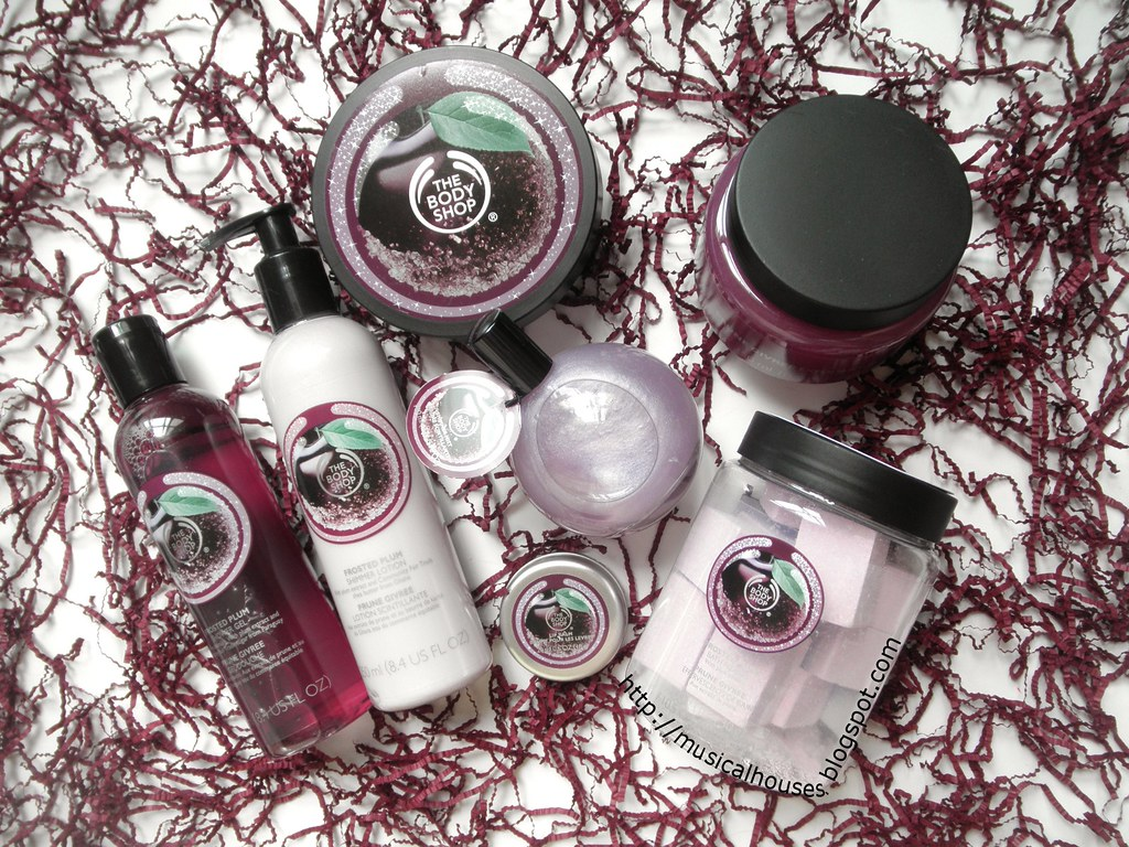 The Body Shop Frosted Plum Collection Holiday