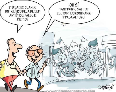 Políticos regenerados