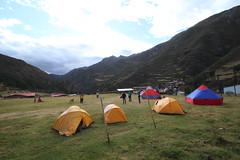 Onze eerste campeerplaats