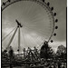 The London Eye. South Bank. by Paul Greeves