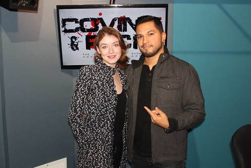 Sarah Bolger on the Covino & Rich Show