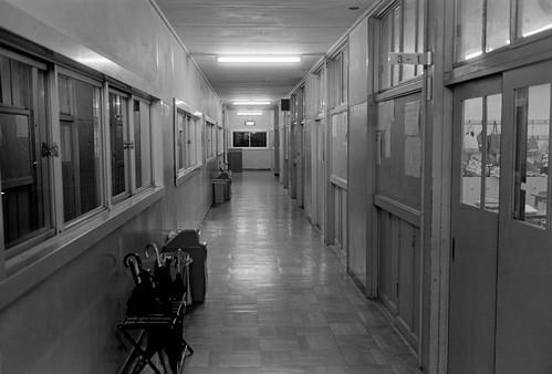 母校の廊下
