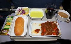 Dining at 38,000ft with AIr China
