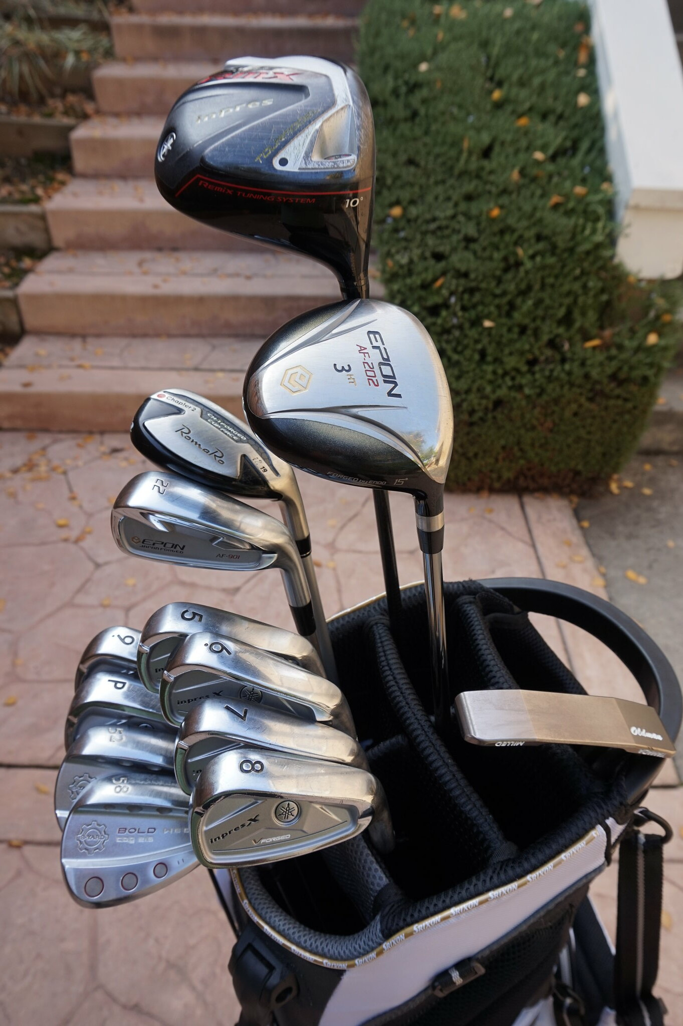 2015 Japanese Golf Clubs Recap What I Learned And Played Motgolf Spinner Iron Hiro Comp Bag A