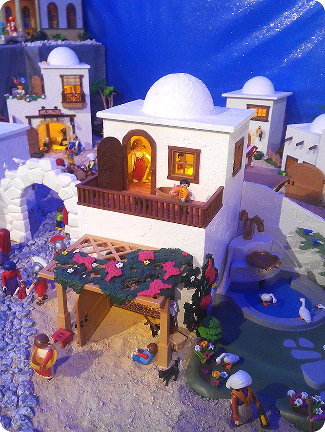 El Belén de Playmobil recauda más de 7.000 euros contra el Cáncer