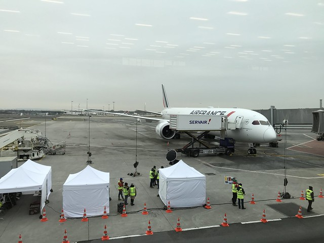 Vol inaugural 787-900 Air France du 7 janvier 2017