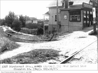 Birchmount Avenue and Kingston Road