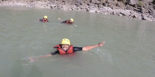 Swimming and Rafting in Rishikesh | Ganga | Uttarakhand