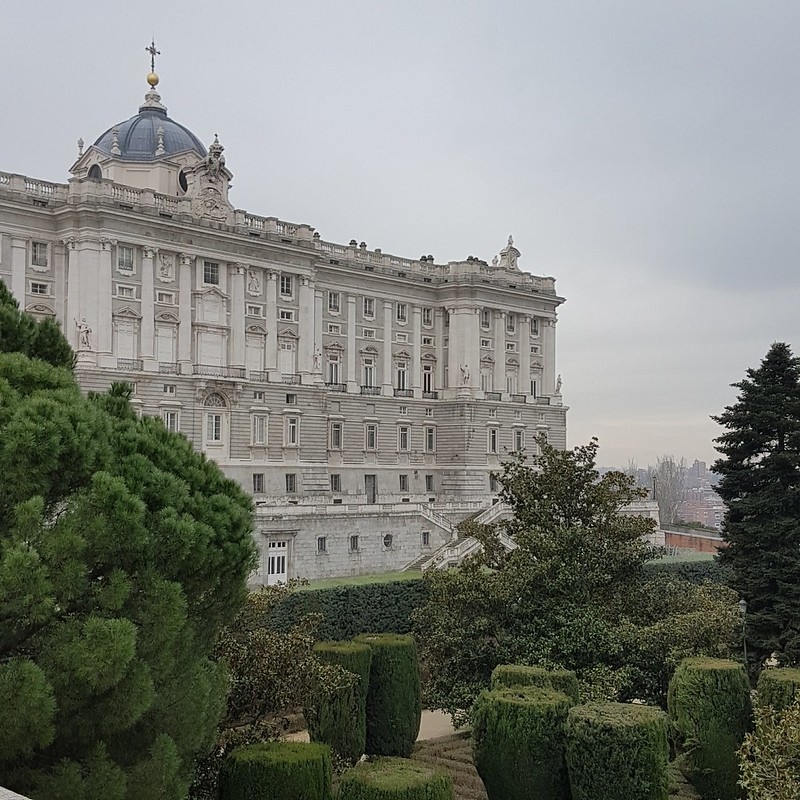 Palacio Real - Giardini Sabatini