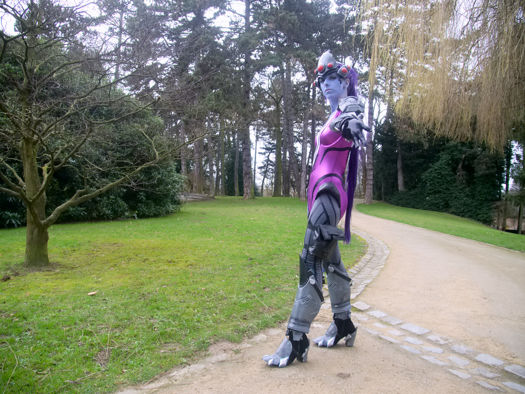 related image - Shooting Fatale - Overwatch - Enaelle's Arts - Bruxelles -2017-03-03- P2010177