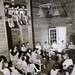 community meeting (students, faculty, faculty families) at black mountain college, lake eden campus, circa early to mid-1940s by davidsilver