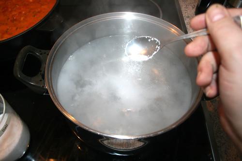35 - Wasser salzen / Salt water