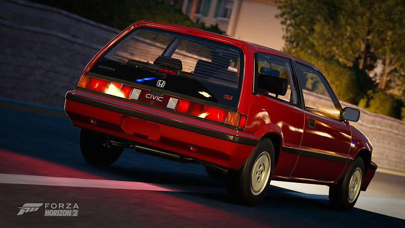 1986 Honda Civic Si