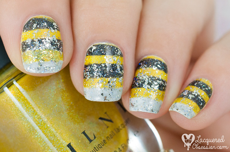 31DC2015 Day 03: Yellow nails