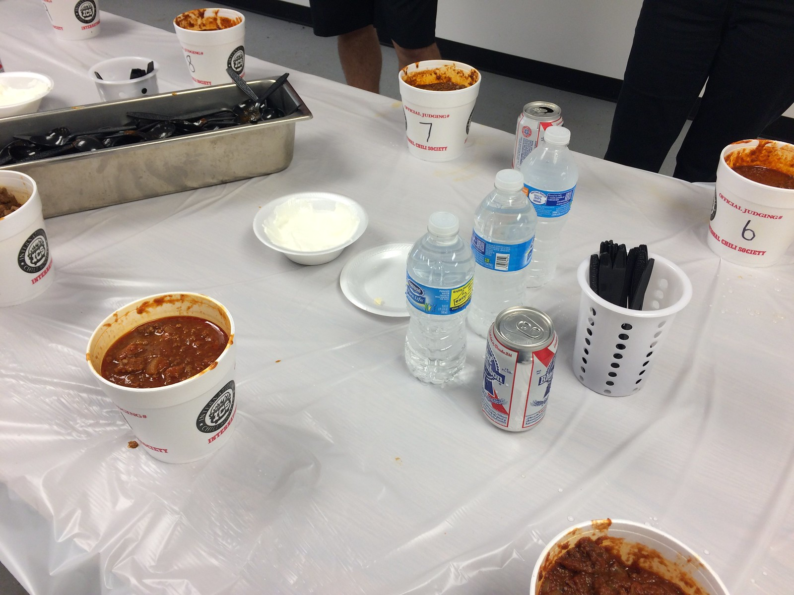 Heat in the hills chili cook off