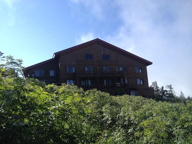 西穂高岳 西穂高口ルート 西穂山荘
