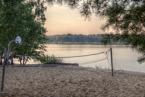 Beach Volleyball at Silbersee