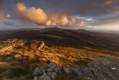 An evening on Moel Ysgyfarnogod