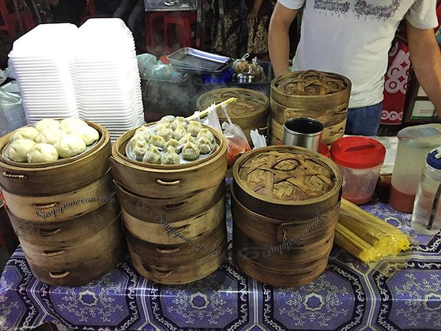 Yangon Chinatown - tim sum