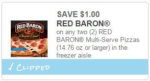 Red Baron and Freschetta Pizza