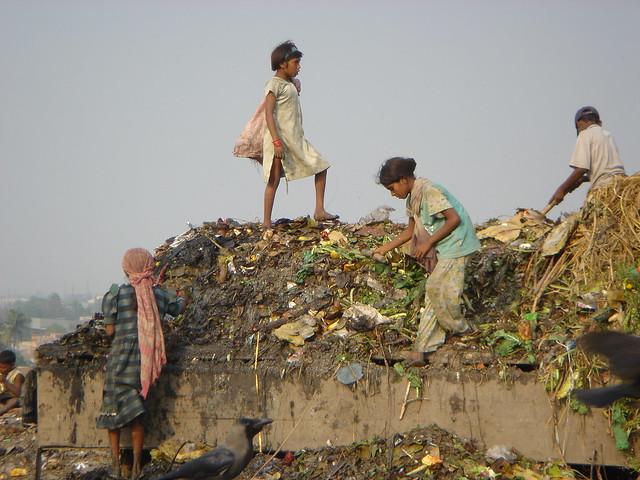 Kinderarbeit: Müllsammler