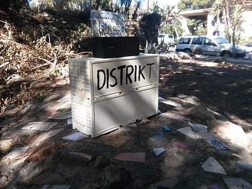 DISTRIKT DJ booth