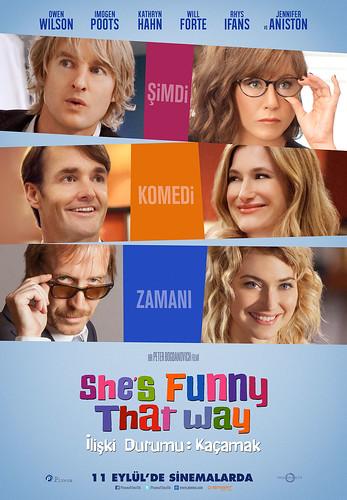 İlişki Durumu: Kaçamak - She's Funny That Way (2015)