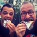 Myself & Steve - Choco Tacos by Christian Montone