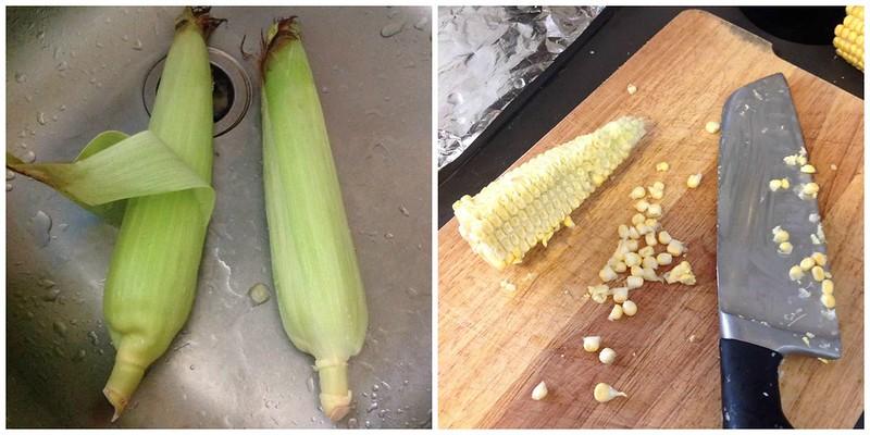 Corn milk process 1