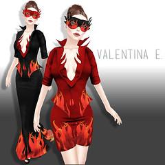 NEW! Valentina E. Firestarter Ensemble For The TAG Gacha!