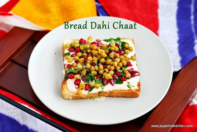 Dahi- bread Chaat