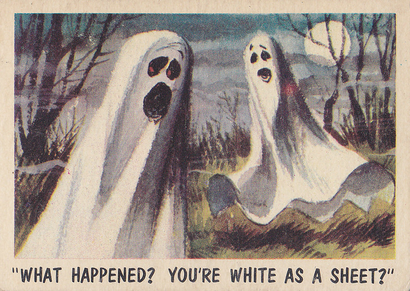 """""""You'll Die Laughing"""" Topps trading cards 1959,  illustrated by Jack Davis (12)"""