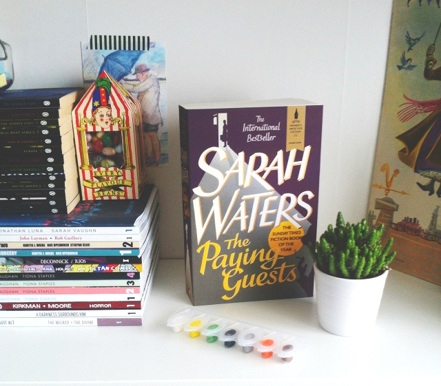 vivatramp book blog lifestyle blog sarah waters the paying guests book haul
