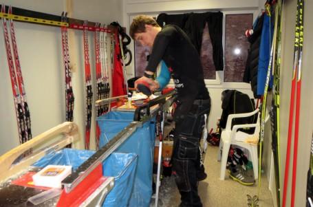 Přiučte se mazání lyží od profesionálů