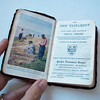 Vintage Small New Testament w/ Brown Leather Cover