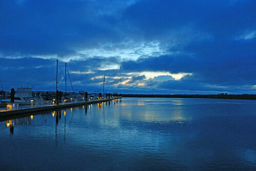 reflection clouds boats dawn dock florida fort low pierce scotkelbyworldwidephotowalk