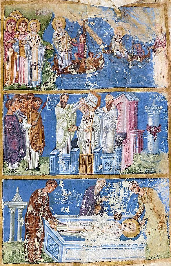 din viata Sfantului Grigorie Teologul