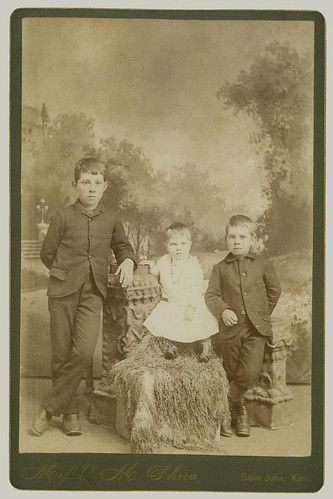 Cabinet Card children