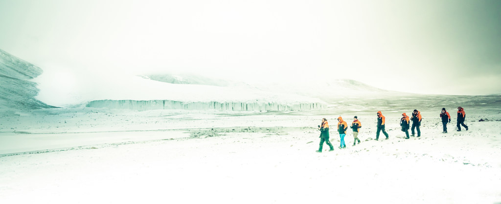 Photo Walk On Antarctica