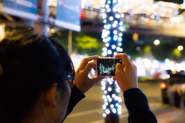 2015 新北歡樂聖誕城登場!阿輝教你用手機也能拍漂亮歡樂耶誕照 @3C 達人廖阿輝