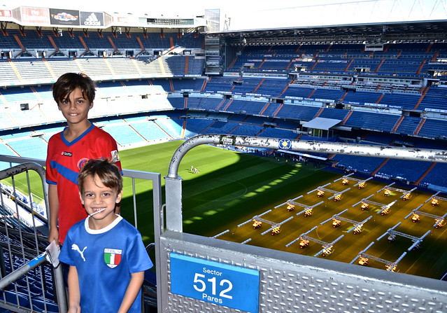 stadium - Real Madrid Stadium Tour - Tour Bernabeu