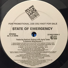 V.A.:STATE OF EMERGENCY SAMPLER E.P.(LABEL SIDE-B)