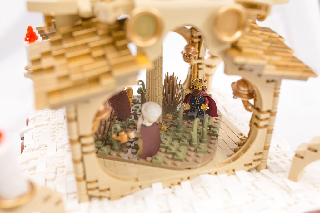 [BuildtheBrick #2]: Weihnachtspyramide 23246559584_2b3eb1ecb9_b