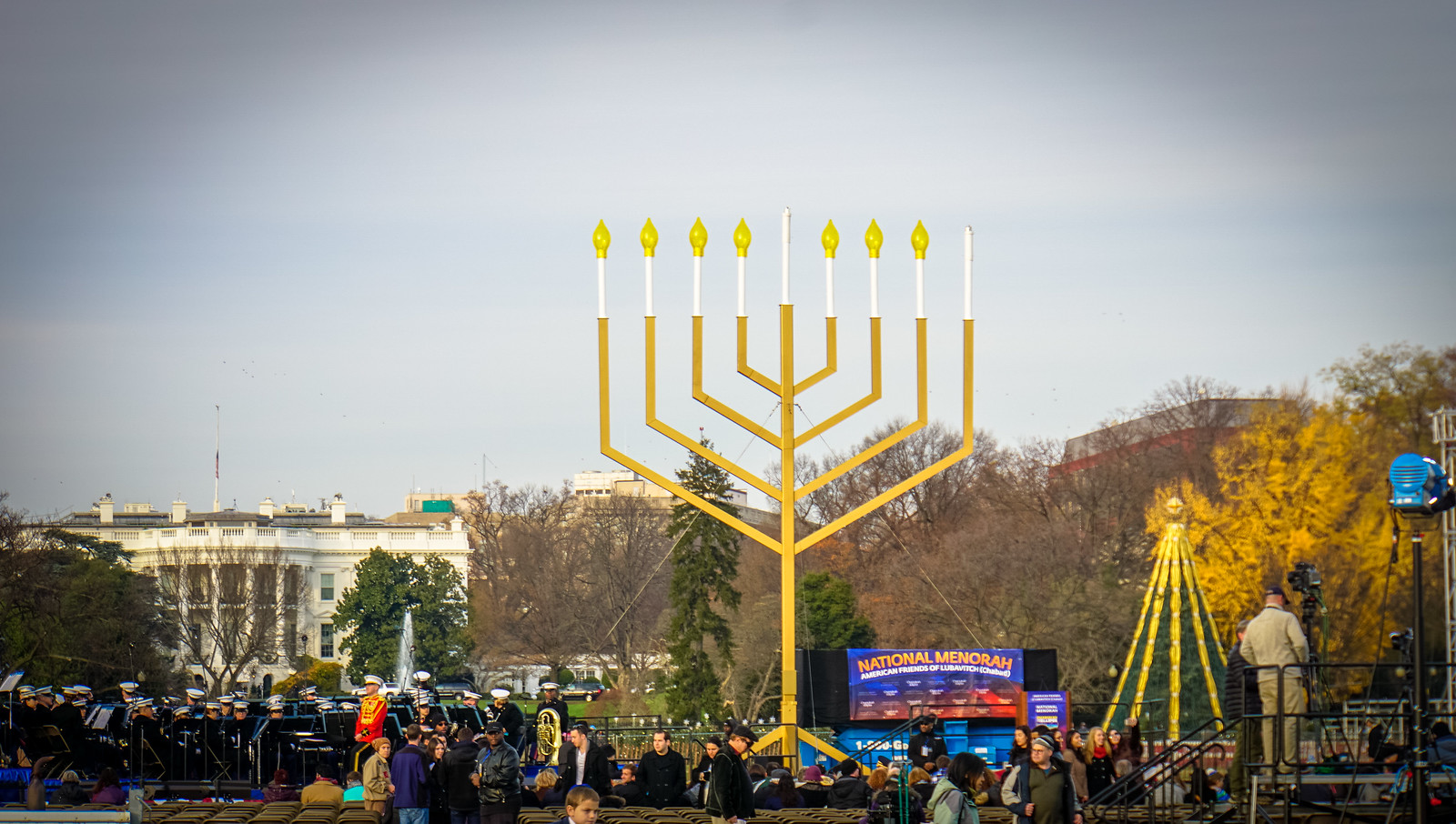 2015 National Menorah Lighting Washington DC USA 00444