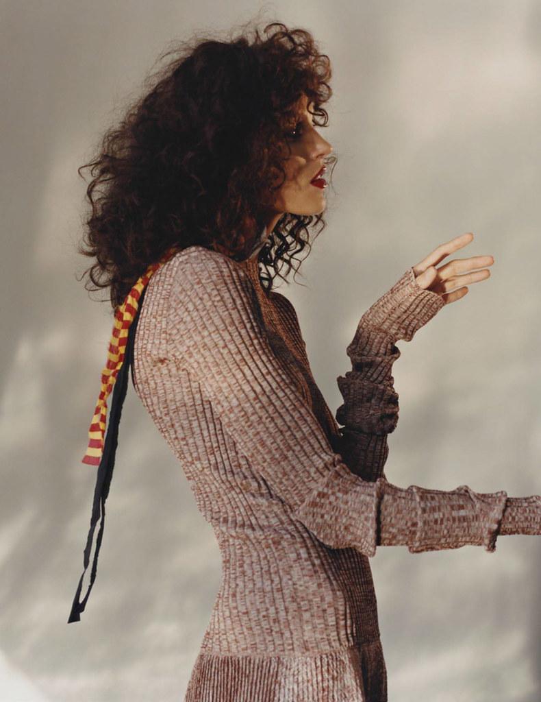 Аня Рубик — Фотосессия для «Vogue» FR 2015 – 10