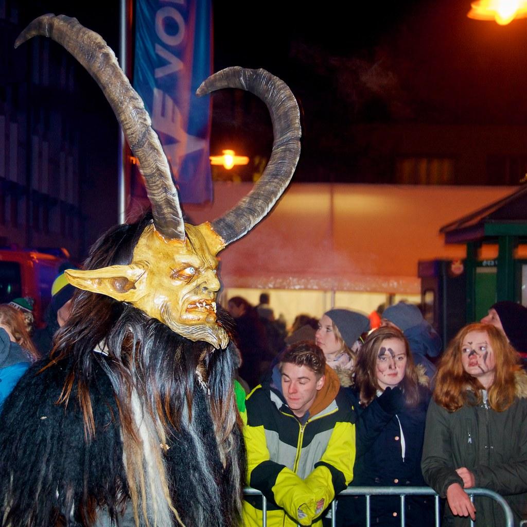 Krampus Parade in Bad Goisern