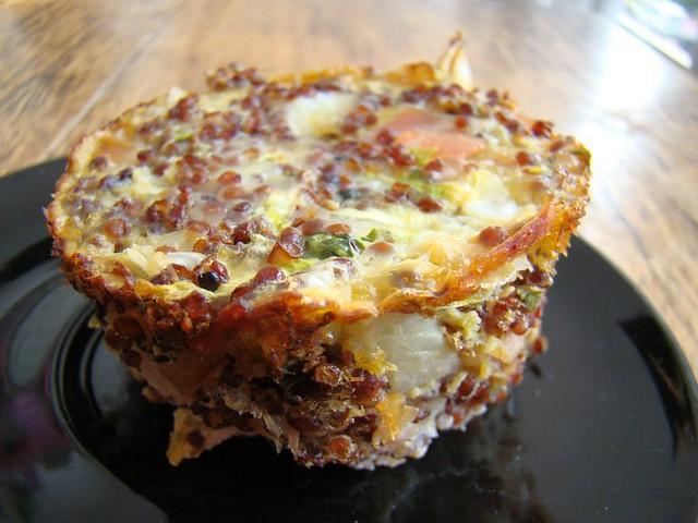 Omeletinha de Quinoa