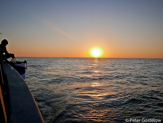 Sunset over Gulf of Aden