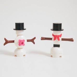 LEGO Advent 2015 Day 20 Snowman Comparison