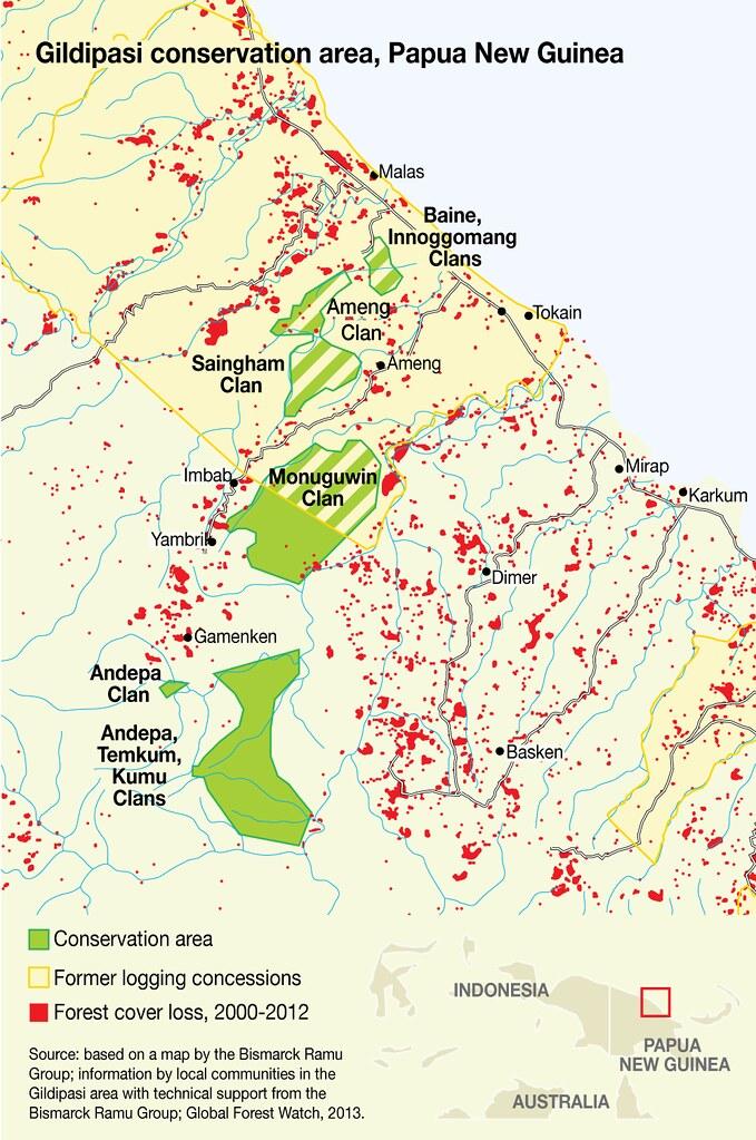 Gildipasi Conservation area, Papua New Guinea | GRID-Arendal